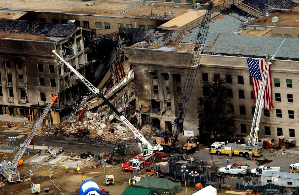 The Pentagon Crash Site